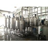 China Big Capacity Pasteurized Milk Processing Line One Year Warranty on sale
