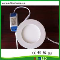 Wholesale 9W slim design mini round LED panel lights CE RoHS compliant with external driver from china suppliers