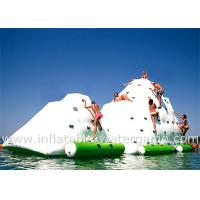 Buy cheap Summer Playing Inflatable Sports Equipment , Inflatable Water Iceberg With CE Air Pump from wholesalers