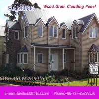 Buy cheap weatherboard metal wall cladding  panels exterior decoration Birmingham 3050*192*7.5/9mm from wholesalers
