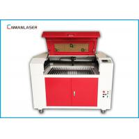 China Wood Fabric Acrylic Leather MDF Plywood 6090 80w CO2 laser cutting machine on sale