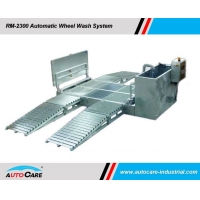 Buy cheap Automatic Wheel Washing System With Movable Ramps/Heavy Duty Truck Wheel Washing Systems hot sales to Australia from wholesalers