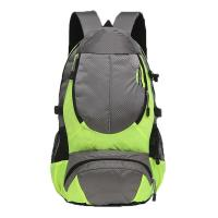 Buy cheap Green / Black Color Rock Climbing Backpack Customized Printing Surface from wholesalers