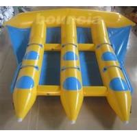 Buy cheap Customized 0.9MM PVC Tarpaulin Inflatable Boat Toys Towable Flyfish For 6 Person from wholesalers