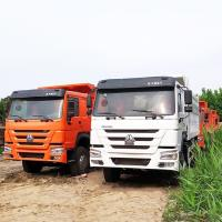Buy cheap Sinotruck good quality new 371HP 6x4 HOWO dump truck sells from wholesalers