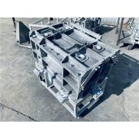 Buy cheap Anti Rust Aluminum Rotational Molds Casting PU Post Foam Jig With 4 Inject Holes from wholesalers
