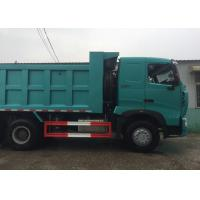 Buy cheap SINOTRUK HOWO A7 Construction Tipper Dump Truck 6 X 4 290HP In Blue Color from wholesalers