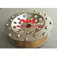Buy cheap 5 Inch 7 Inch PCD Diamond Cup Grinding Wheel for Epoxy coating removal on hand grinder from wholesalers