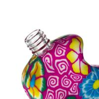 Buy cheap Classical  Multi Color Clay Perfume Decanter Beautiful Perfume Bottles from wholesalers