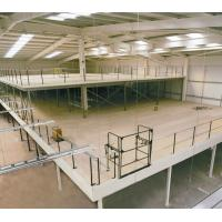 Buy cheap Structural Steel Mezzanine Floor Racking Powder Coating For Industrial Building from wholesalers