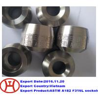 Wholesale ASTM A182 F316L sockolet from china suppliers