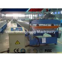 China Finished Steel Roof Tile Roll Forming Machine 25 M / Min High Production Capacity on sale