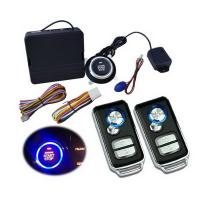 Buy cheap Universal Car Alarm One Button Smart start system with vehicle gps locator from wholesalers