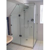 Buy cheap ANSIZ97.1 Straight Corner Shower Enclosure Glass Tempered Safety from wholesalers