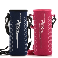 Buy cheap Lanyard Neoprene Water Bottle Sleeve For Outdoor Sports from wholesalers