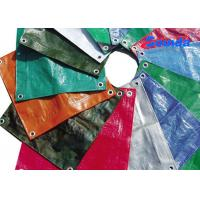 Buy cheap Colorful Anti UV High Gloss Laminated HDPE Tarpaulins for Roof / Awning Covering product