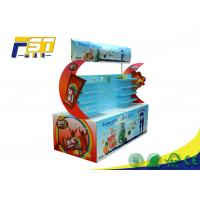 Buy cheap Custom Made Glossy Logo Cardboard Corrugated Pallet Displays For Retail Promotion from wholesalers