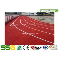 Modified PU Mixed EPDM Granules Athletics Running Track Surfaces Manufactures