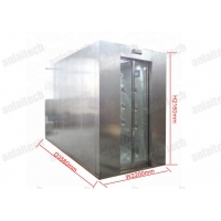 Buy cheap Automatically Sliding Door Air showers for Clean room entrance from wholesalers