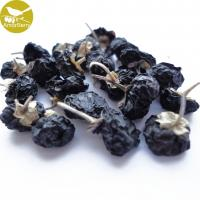 Buy cheap 100% Natural black wolfberry, China wholesale organic certificated dried black goji berry from ningxia factory from wholesalers