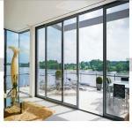 Buy cheap 80x35 flat surface sliding screen door energy efficient door glass panel doors aluminum sliding door from wholesalers