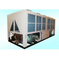 128KW Industrial Air Cooled Screw Chiller , Air - Cooled Scroll Chillers For Rubber Manufactures
