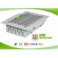 Buy cheap IP65 80 watts led gas station canopy lights with CREE chip , AC90 - 295V from wholesalers