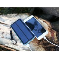 Wholesale CE 20000mAh Portable Solar USB Charging Battery Pack Compatible With IPhone Samsung from china suppliers