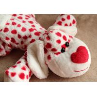 Lovely Valentines Day Animal Dog Stuffed Push Toys For Celebration 35cm Manufactures