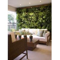 Wholesale Popular Fake Artificial Green Wall with Lush Plastic Plants for Interior Wall Decoration from china suppliers