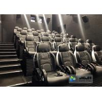Buy cheap Novel Motion 5D Cinema Equipment With Luxurious Armrest Seats 2 Years Warranty product