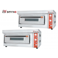 Buy cheap Gas Pizza Deck Oven One Layer 220v For Bread Baking with Stone from wholesalers