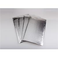 Buy cheap Self Seal Silver Metallic Bubble Mailers , Bubble Wrap Envelopes Recyclable from wholesalers