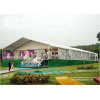 Buy cheap 3-50 Clear Span Tents , Big Canopy Party Wedding Marquee Aluminum Tent With Colorful Linings from wholesalers