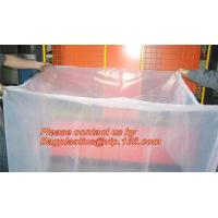 Quality clear plastic flat bottom bag pallet cover proof dust cover furniture cover for sale