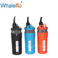 Buy cheap Whaleflo deep well 12v/24v DC 6LPM solar powered submersible water pumps from wholesalers