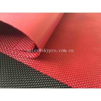 Buy cheap Solution Dyed Red Coating Waterproof Oxford Fabric For Bag And Luggage from wholesalers