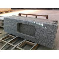 Buy cheap 1800 X 600mm Prefabricated Slab Granite Countertops With Sink Hole from wholesalers