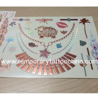 Buy cheap Personal care custom design body art tattoos for UV ink from wholesalers