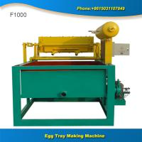 Buy cheap Hot sale low cost 1000 pcs small egg tray making machine from wholesalers