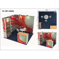 Buy cheap Aluminum Frameless Custom Exhibit Booths, EZY Set Exhibition Display Stands from wholesalers