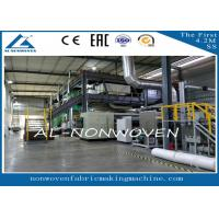 AL-1600SSS PP Spun Bonded Nonwoven Fabric Production line / PP NON WOVEN Fabric Making Machine Manufactures