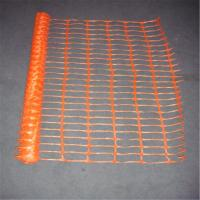 Buy cheap 1.2m Reflective Flourescent Orange Plastic Safety Fence Net from wholesalers