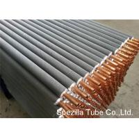 Buy cheap 11 FPI Extruded Fin Tube / Heat Exchanger Finned Tube 25000MM Length from wholesalers