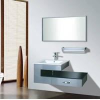 Buy cheap stainless steel bathroom cabinet from wholesalers