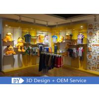 Buy cheap Nice Fresh Wooden Lacqer Children's Boutique Store Fixtures With Led Lighting from wholesalers