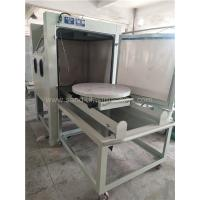 Wholesale Turntable Dry Manual Blasting Machine 1200*1200*1950mm Dimension from china suppliers