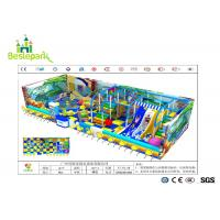 Quality Anti Static Baby Indoor Playground Large Scale With EVA Flooring Mat for sale