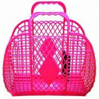 Buy cheap Plastic Basket, Various Shapes, Designs, Colors and Sizes are Available from wholesalers