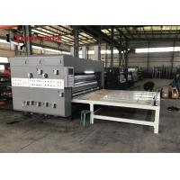Buy cheap Semi Auto Corrugated Cardboard Base Water - Ink Printing With Slotting Machine from wholesalers